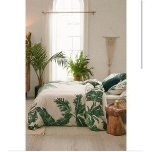 Urban Outfitters Expressive Palms Duvet Cover